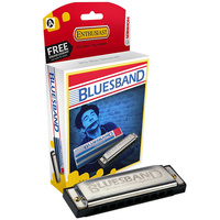 Hohner Enthusiast Series Bluesband Harmonica in the Key of A