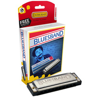 Hohner Enthusiast Series Bluesband Harmonica in the Key of G