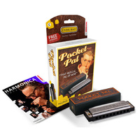Hohner Enthusiast Series Pocket Pal Harmonica in the Key of C