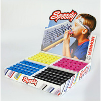 Hohner Speedy Harps Counter Display Box of 24 Asst Colours