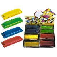 Hohner Happy Harps Counter Display Box of 24 Asst Colours