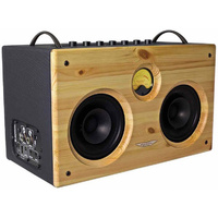 "Ashdown ""B-Social"" 75W Stereo Bass Amp Combo In Wood Gloss"