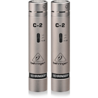 Behringer C-2 Matched Condenser Microphones in Case (Pair)