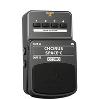 Behringer CC300 Chorus Space-C Analog 3-Dimensional Sound Effects Pedal