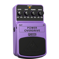 Behringer PO300 Ultimate Power Overdrive Effects Pedal