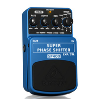 Behringer SP400 Super Phase Shifter Ultimate Phase Shifting Effects Pedal