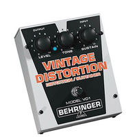 Behringer VD1 Authentic Vintage-Style Distortion/Sustainer