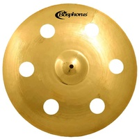 "Bosphorus Gold Series 17"" Holed Crash Cymbal with 6 Holes"
