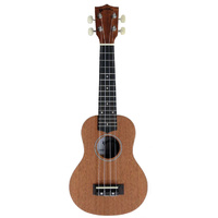 Kealoha BU-Series Soprano Ukulele in Natural Matt Finish