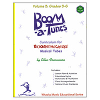 "Boomwhackers ""Boom-a-Tunes Volume 3"" Curriculum Book/CD"