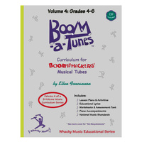 "Boomwhackers ""Boom-a-Tunes Volume 4"" Curriculum Book/CD"