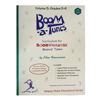 "Boomwhackers ""Boom-a-Tunes Volume 5"" Curriculum Book/CD"