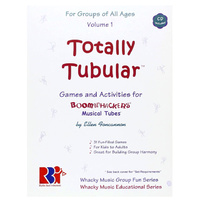 "Boomwhackers ""Totally Tubular Volume 1"" Book/CD"