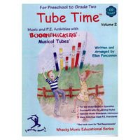 "Boomwhackers ""Tube Time Volume 2"" Book/CD"