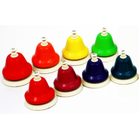 Chroma-Notes 8-Note Diatonic Desk Bell Set