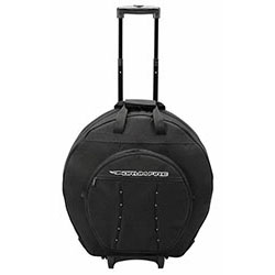 Drumfire Deluxe Cymbal Trolley Bag with Wheels