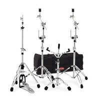 "Gibraltar G6 Series Drum Hardware Gig Pack with 33"" Rolling Bag"