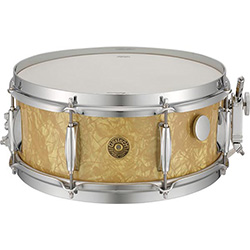 Gretsch Broadkaster Vintage Snare Drum Antique Pearl Finish - 14 x 6.5""