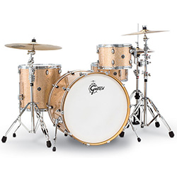 Gretsch Catalina Club Rock 4-Pce Drum Kit in Copper Sparkle