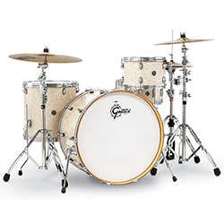 Gretsch Catalina Club Rock 4-Pce Drum Kit in Vintage Marine Pearl
