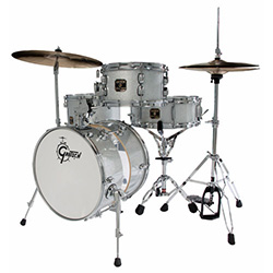 Gretsch Catalina Club Street 4-Pce Drum Kit in Silver Sparkle