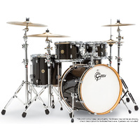 Gretsch Catalina Maple 5-Pce Fusion Drum Kit in Black Bronze Sparkle