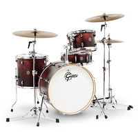 Gretsch Catalina Club Classic 4-Pce Drum Kit in Satin Antique Fade