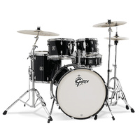 Gretsch Energy Series Fusion 5-Pce Drum Kit in Black