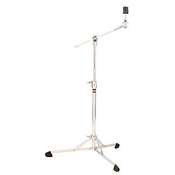 Gibraltar 8700 Series Flat Base Boom Cymbal Stand with Hideaway Boom & Brake Tilter