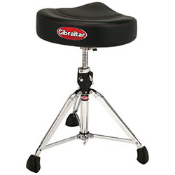 Gibraltar 9600 Series Double Braced Pro Motostyle Drum Throne in 2-Tone Finish