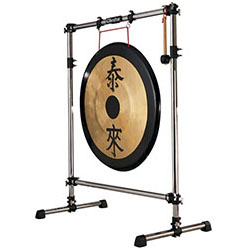 "Gibraltar Gong Stand with 1.5"" Rack Tubing"