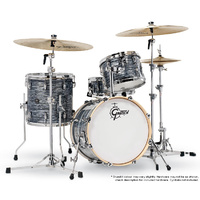 Gretsch RN2 Renown Series 4-Pce Drum Kit in Silver Oyster Pearl
