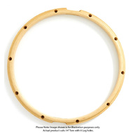 "Gibraltar 14""/8 Lug Snare Side Wood Hoop"