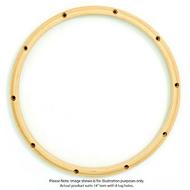 "Gibraltar 14""/8 Lug Snare Batter Side Wood Hoop"