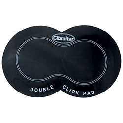 Gibraltar Double Bass Drum Pedal Click Pad - Pk 1
