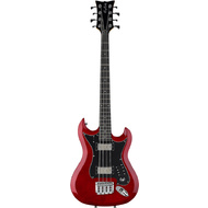 Hagstrom HB-8 Bass Guitar in Wild Cherry Transparent Gloss