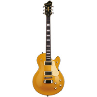 Hagstrom Swede Guitar in Metallic Gold Gloss