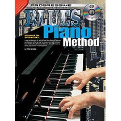 Progressive Blues Piano Method Book/CD