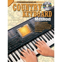 Progressive Country Keyboard Method Book/CD
