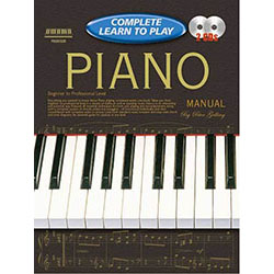 Progressive Complete Learn To Play Piano Book/CD(2)