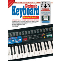 Progressive Keyboard Method 1 Book/Online Video & Audio