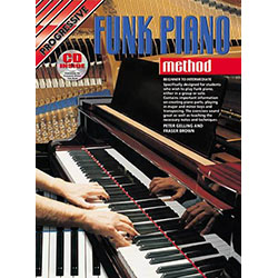 Progressive Funk Piano Method Book/CD