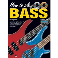 How To Play Bass for Beginners Book/CD/DVD
