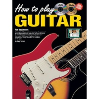 How To Play Guitar for Beginners Book/CD/DVD