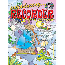 Introducing Recorder for The Young Beginner Book/CD