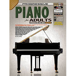 Progressive Piano for Adults Book/CD/DVD(2)/DVD-Rom
