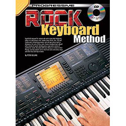 Progressive Rock Keyboard Method Book/CD