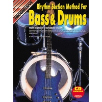 Progressive Rhythm Section Method for Bass & Drums Book/CD