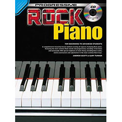 Progressive Rock Piano Method Book/CD