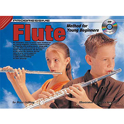 Progressive Flute for Young Beginners Book/CD